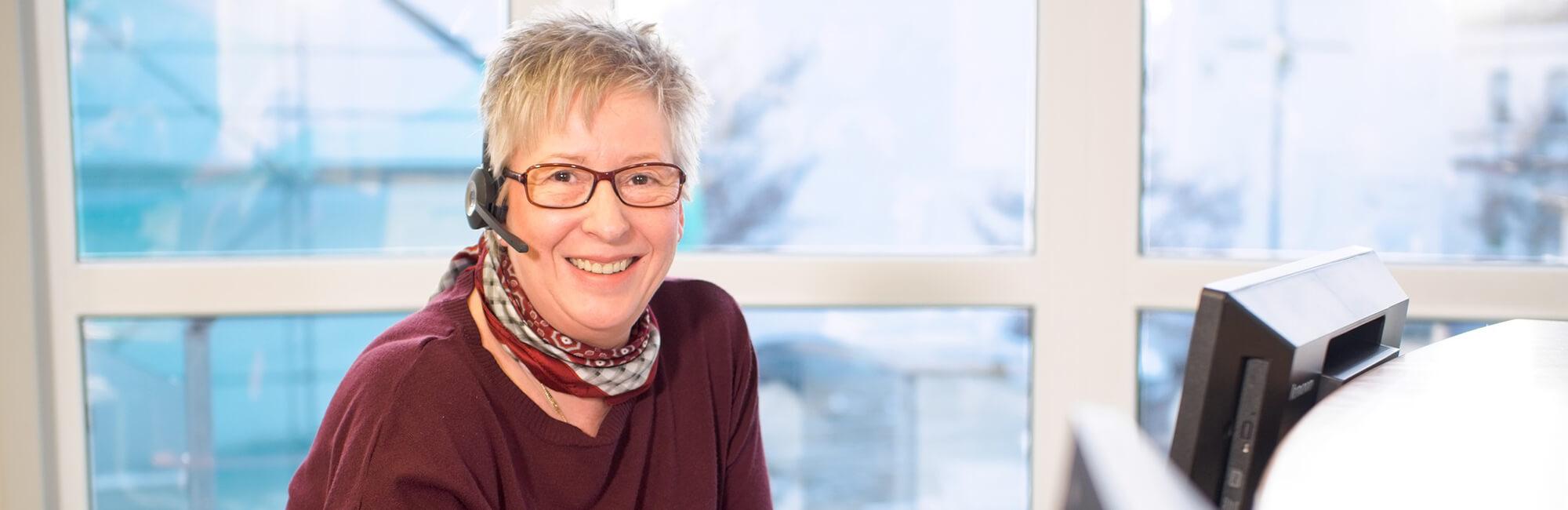 Hausarztpraxis Rheinstraße in Nastätten - Kontakt Slider