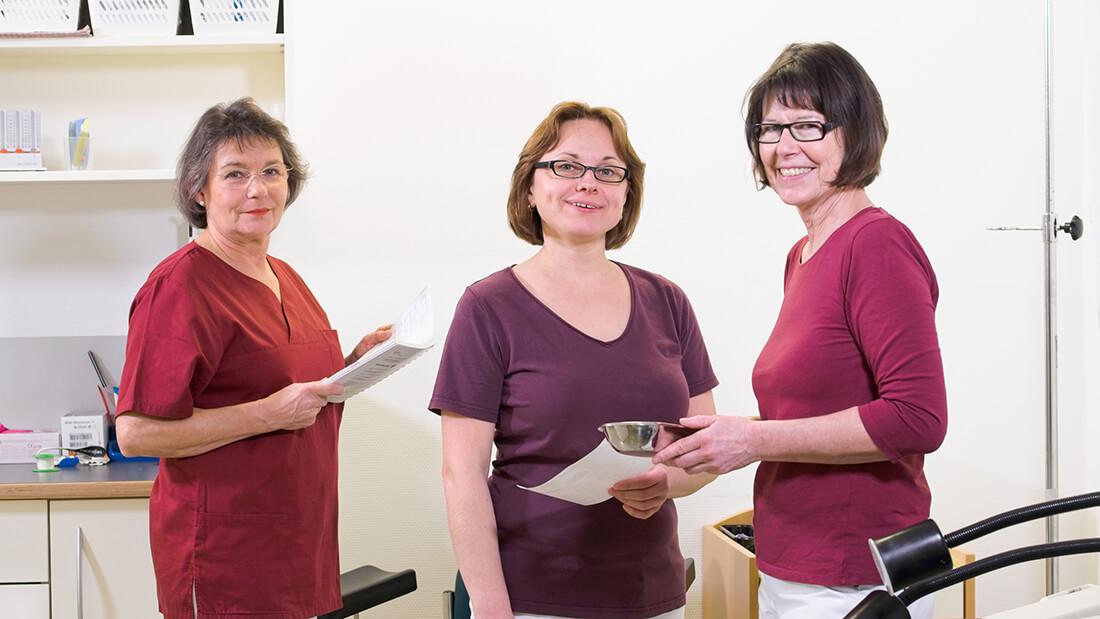 Hausarztpraxis Rheinstraße in Nastätten - Mitarbeiterinnen der Praxis