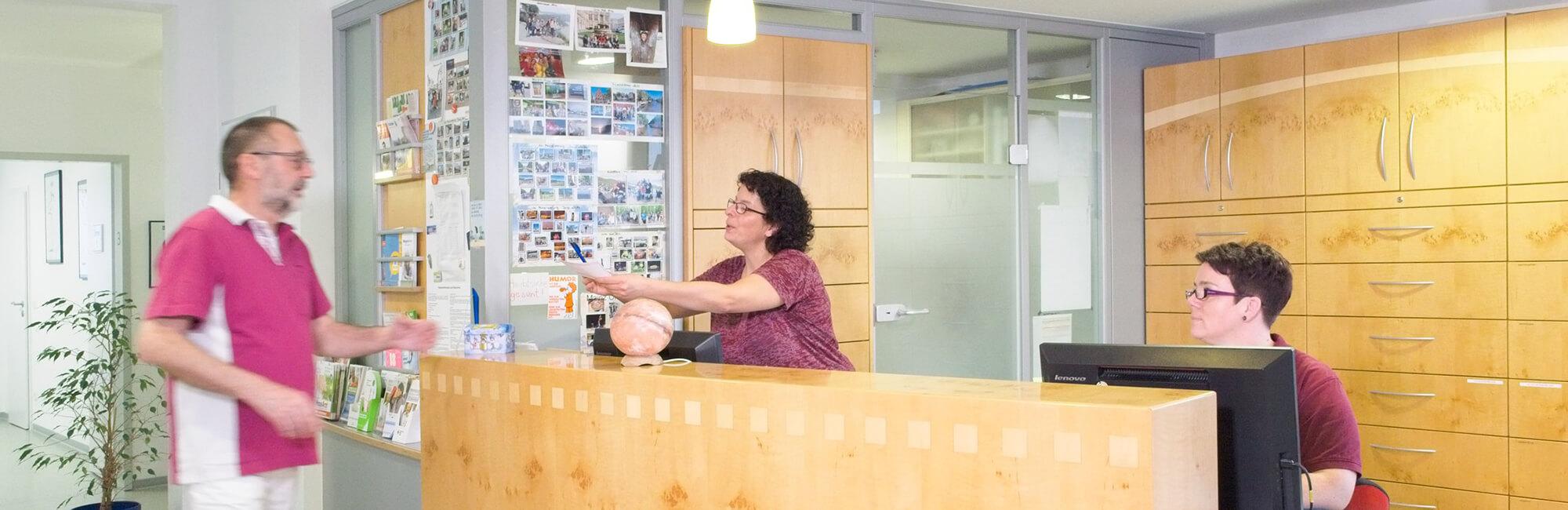Hausarztpraxis Rheinstraße in Nastätten - Praxis Slider