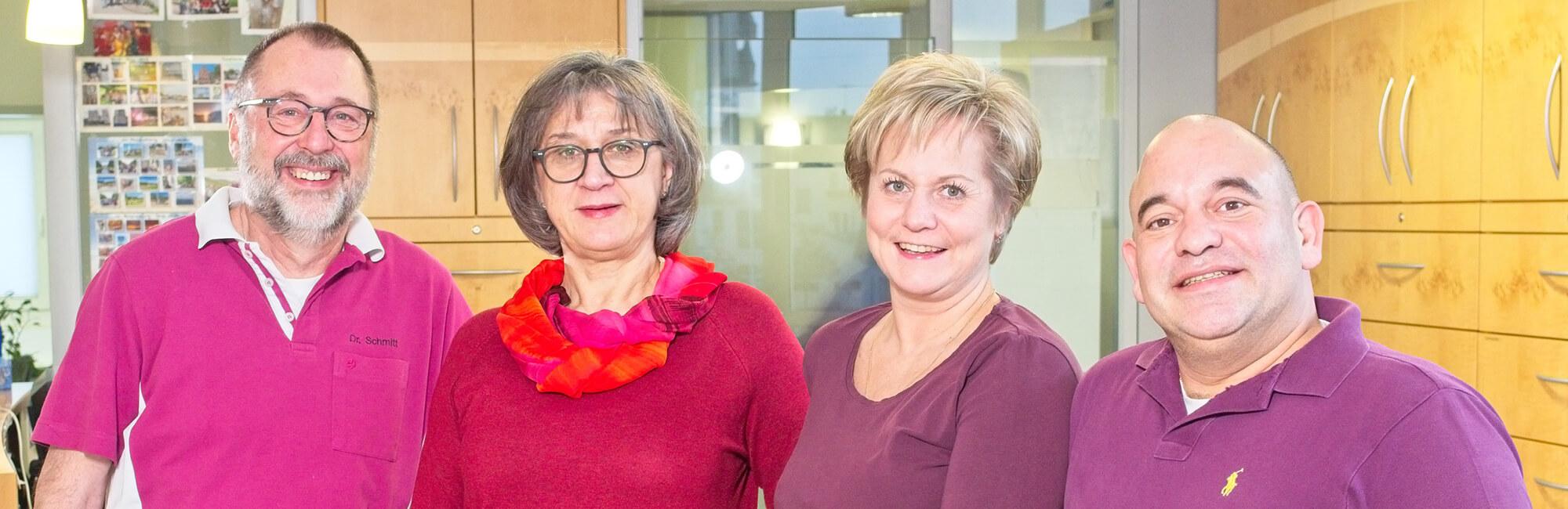Hausarztpraxis Rheinstraße in Nastätten - Team Slider